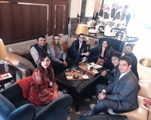 Dr Somdutta with Indian delegates in Istanbul during GEC 2018-large