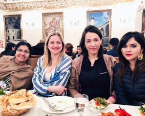 Dr Somdutta with other delegates in Istanbul during GEC 2018 3